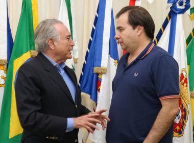 Michel Temer tenta evitar rebelião na base após ataque de Rodrigo Maia
