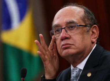 MANIFESTAÇÃO EM SÃO PAULO EM EVENTO COM GILMAR MENDES