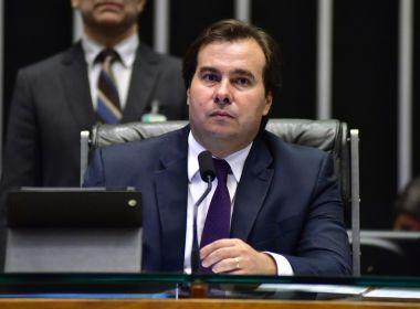 Rodrigo Maia chama advogado de Temer de 'incompetente'