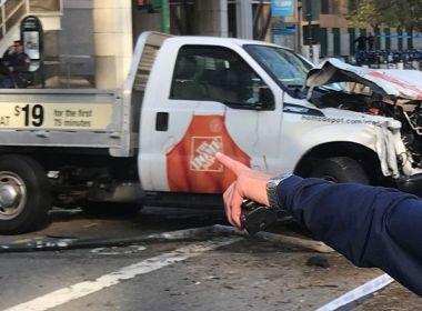 Ataque com caminhonete e tiros em Nova York deixa ao menos oito mortos