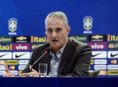 Após empate, Tite exalta volume ofensivo e diz que apenas Brasil merecia vitória