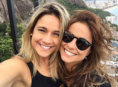 Fernanda Gentil revela como contou sobre a namorada para Lucas, filho mais velho