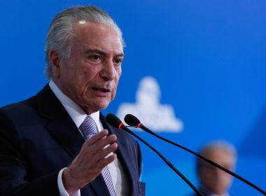 Em São Paulo, Temer realiza reavaliação de cirurgia feita em outubro, diz boletim médico