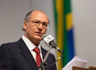 Reforma será prioridade no plano de Alckmin à Presidência da República