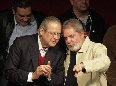 MP pede inquérito sobre conta de propinas atribuída a Dirceu e Lula na Espanha