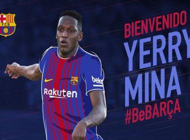 Barcelona aceita condições do Palmeiras e fecha contratação de Mina