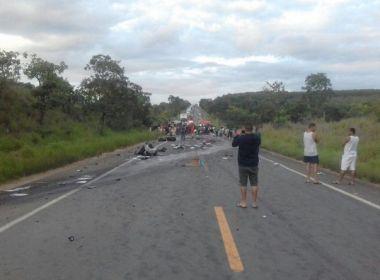 Número de mortos em acidente na BR-251, em Minas Gerais, sobe para 13