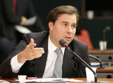 'Não sou candidato a presidente da República', afirma Rodrigo Maia em NY