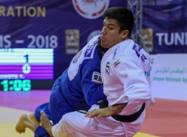 Eduardo Yudi fatura o bronze no Grand Prix de Túnis de Judô