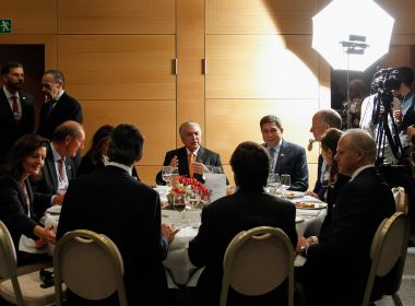 Em Davos, condenação de Lula foi comemorada por comitiva de Temer