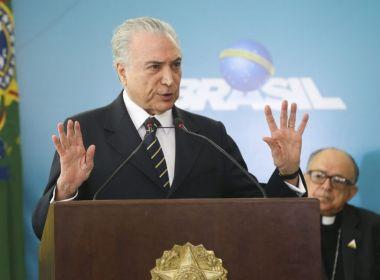 De volta ao Brasil, Temer evita falar sobre Lula e mantém foco na Previdência