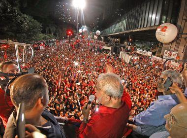 PT diz fará atos de lançamento pré-candidatura de Lula nos próximos dias