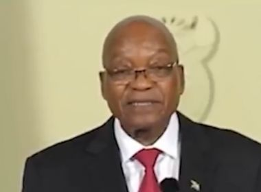 Presidente da África do Sul, Zuma anuncia que vai renunciar ao cargo