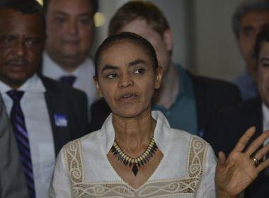 Saídas de deputados da Rede podem tirar Marina Silva de debates na TV