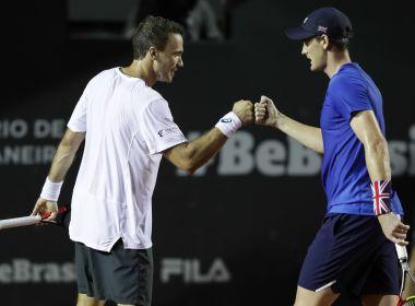Bruno Soares e Jamie Murray avançam à semi do Rio Open; Bellucci e Sá perdem
