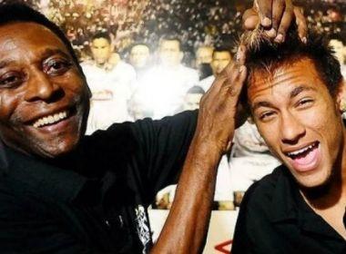 Pelé diz que Neymar é o melhor do mundo e está pronto para liderar a seleção