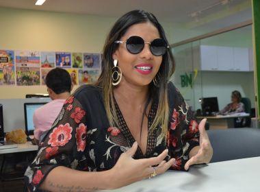 A Vingadora não quer ser 'só mais uma banda', diz Tays Reis