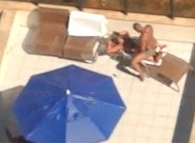 sexo publico piscina