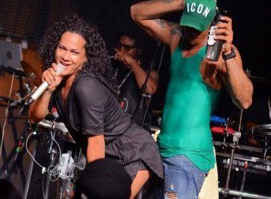 Léo Santana faz dança ousada e sensual com a amiga, dançarina e ex-vereadora Léo Kret