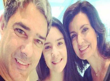 Depois do irmão, filha de William Bonner e Fátima Bernardes consegue estágio na Globo