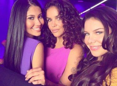Fernanda Souza, Ju de Paulla e Thaynara OG gravam comercial para tinta de cabelo juntas