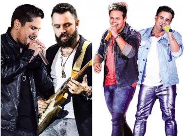 Villa Mix Salvador confirma Jorge & Mateus e Matheus & Kauan e atualiza valores; Confira
