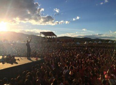 Grade eclética agita cerca de 25 mil pessoas no primeiro dia de Brega Light, em Ibicuí
