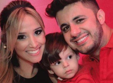 Apesar de saber da morte de pai, filho de Cristiano Araújo diz que ele está 'trabalhando'
