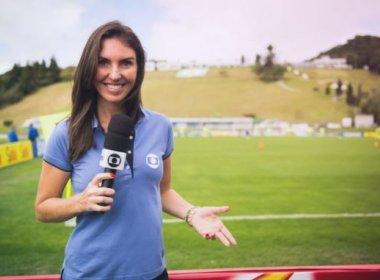 Glenda Kozlowski será a primeira mulher a narrar esporte na Globo durante Olimpíada