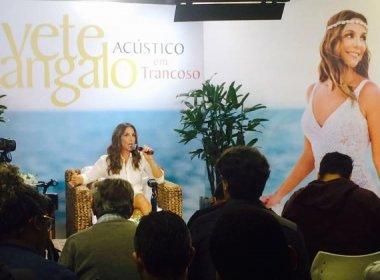 Ivete Sangalo sobre convite a Luan Santana no DVD: 'chamaria para qualquer coisa'