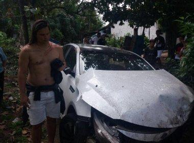 Marlus Viana, ex-vocalista da Calcinha Preta, sofre grave acidente de carro