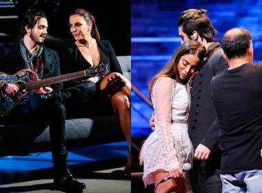 Ivete e Anitta gravam participação no novo projeto de Luan Santana; veja fotos