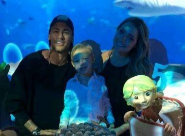 Após Olimpíada, Neymar faz festa para comemorar aniversário de cinco anos do filho
