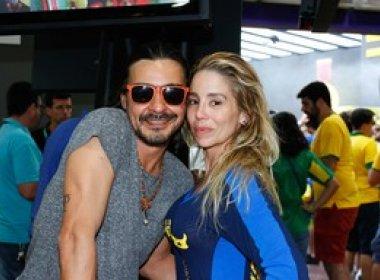 Danielle Winits e André Gonçalves se casarão no civil em outubro