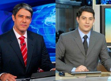 Evaristo Costa deverá substituir oficialmente William Bonner no 'Jornal Nacional'
