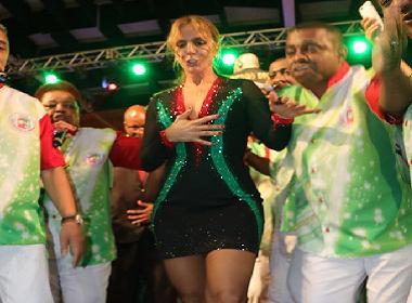 Tema da Grande Rio, Ivete participa da final do samba-enredo; veja fotos