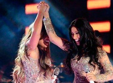 Simone e Simaria comemoram desempenho da música '126 cabides' nas rádios