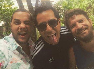 Saulo, Tomate e Levi farão show juntos em prol do Projeto Axé na Concha Acústica