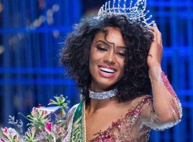 Miss Brasil afirma não sofrer racismo e destaca suas raízes: 'Sou baiana!'