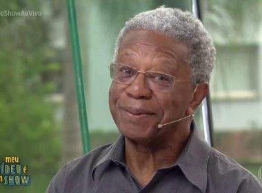 No 'Vídeo Show', Milton Gonçalves se irrita com tratamento e ameaça abandonar programa