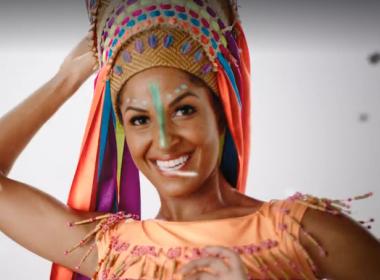 Vestida, nova Globeleza exibe diversidade cultural do país; internautas aprovam