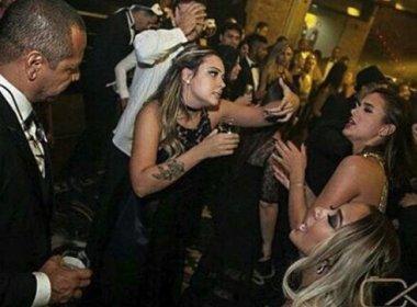Com presença de Bruna Marquezine, ex de Neymar canta 'Medo Bobo' em festa