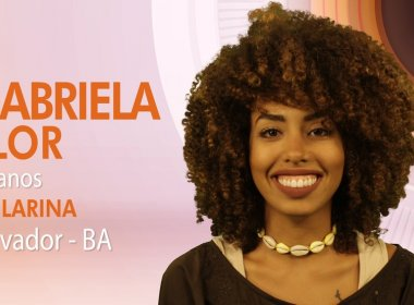 Bahia terá representante na 17ª edição do BBB; conheça Gabriela Flor