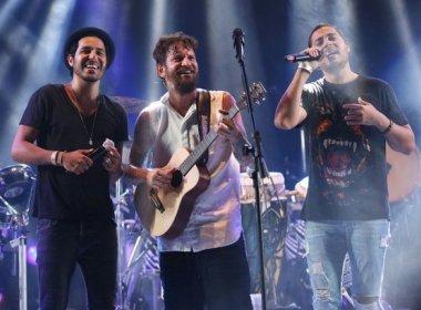 Triângulo: Saulo, Tomate e Levi divulgam clipe da música 'Feliz'; assista
