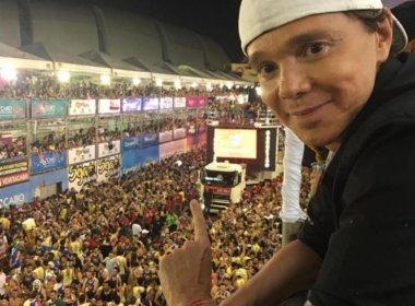 Cantor Netinho anuncia que está de volta ao Carnaval de Salvador
