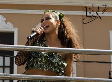 Alinne Rosa brinca com ACM Neto: 'Danadinho, ficou solteiro na boca do Carnaval'
