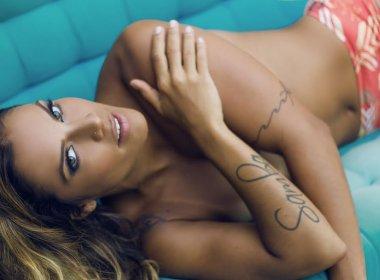 Ju Moraes faz ensaio sensual em estilo do seu novo DVD 'Sabor Brasileiro'