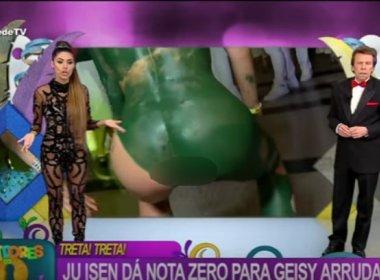 Mulher que teve ânus exibido ao vivo na Rede TV decide processar emissora