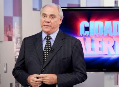 Sem notícias, equipe da Record se preocupa com estado de saúde de Marcelo Rezende
