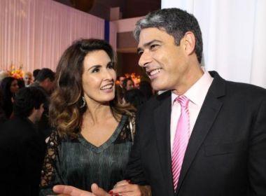 Fátima Bernardes fala pela 1ª vez sobre divórcio de Bonner: 'Processo de luto'
